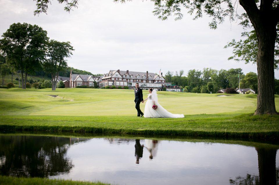 Ashley & Neil – Baltusrol Golf Club Summer Wedding
