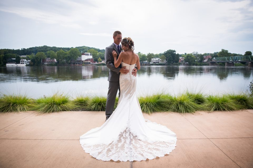 Nikki & Tim  – Elegant Summer Wedding at Lambertville Station Inn