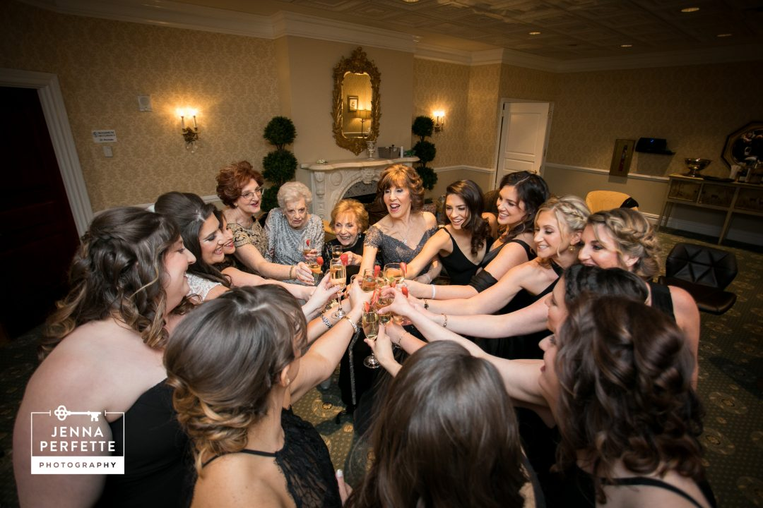 NJ wedding, Bridesmaids