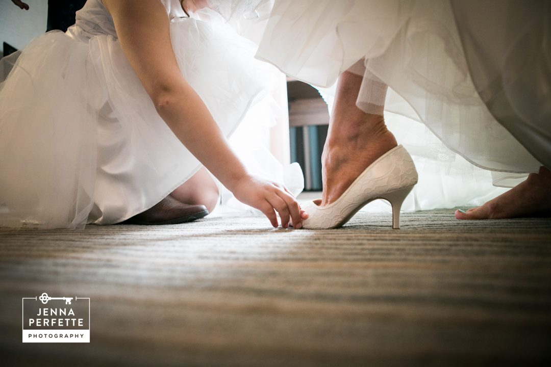 Flower Girl and Bride's Heels