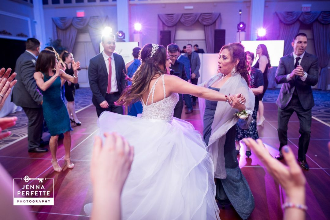 Bride and Her Mother Dancing