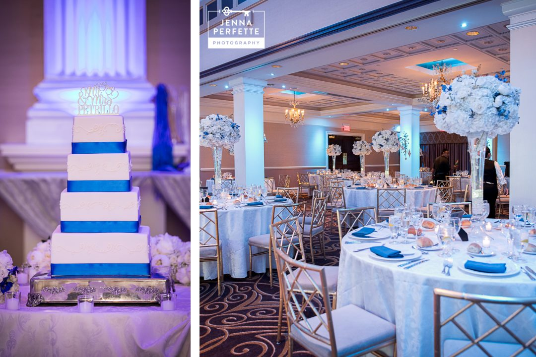 Wedding Cake and Wedding Reception Venue