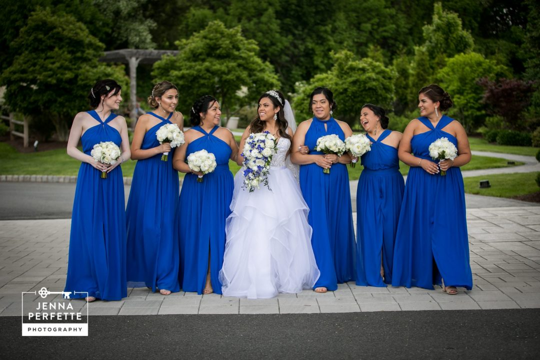Beautiful Bride and Her Bridesmaids A Refreshing Spring Wedding at The Palace