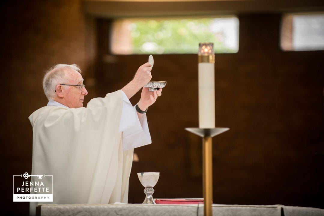 Reverend Performing Ceremony