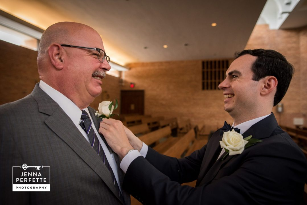 Groom and His Father