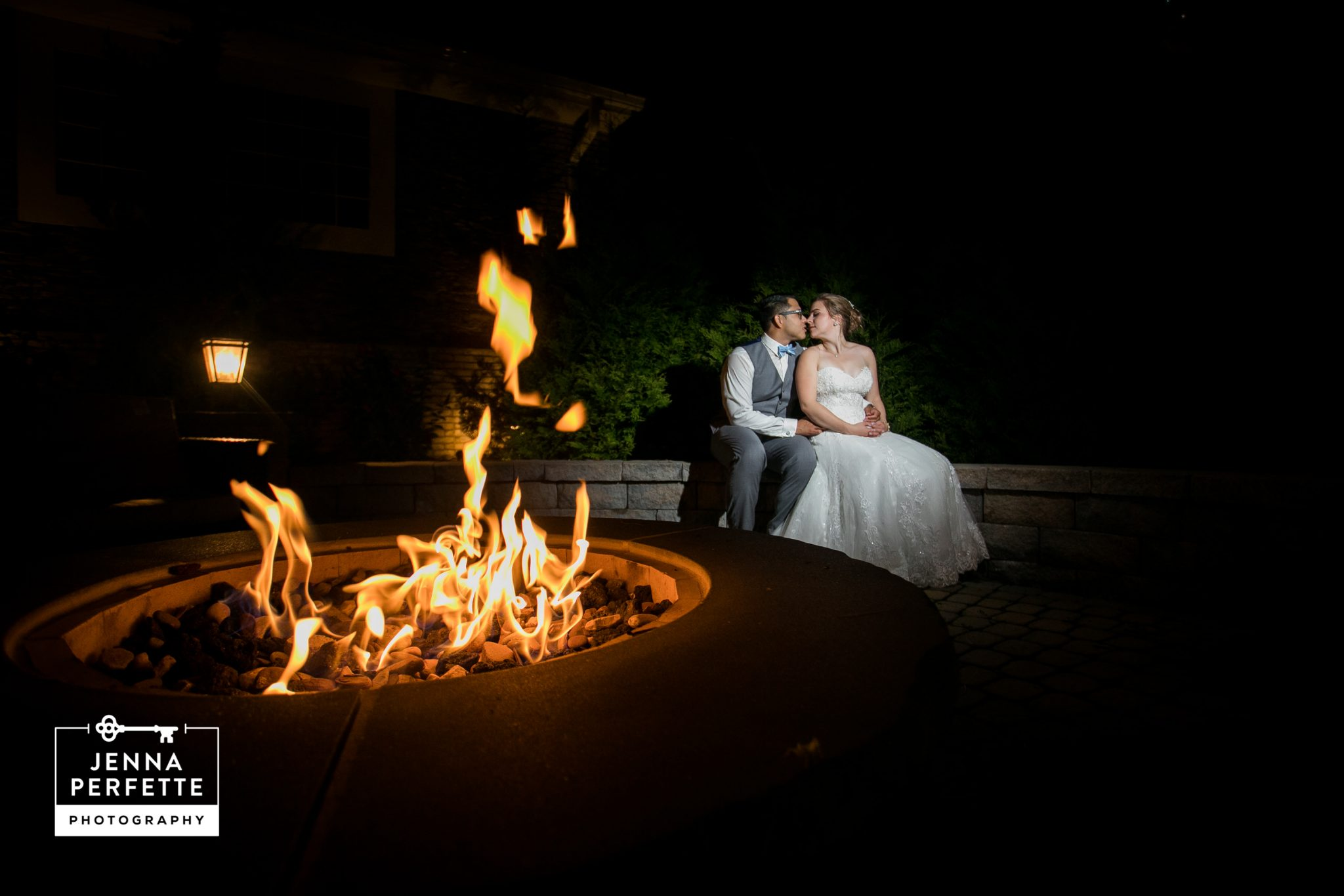 Summer Wedding at The Sherwood Chalet