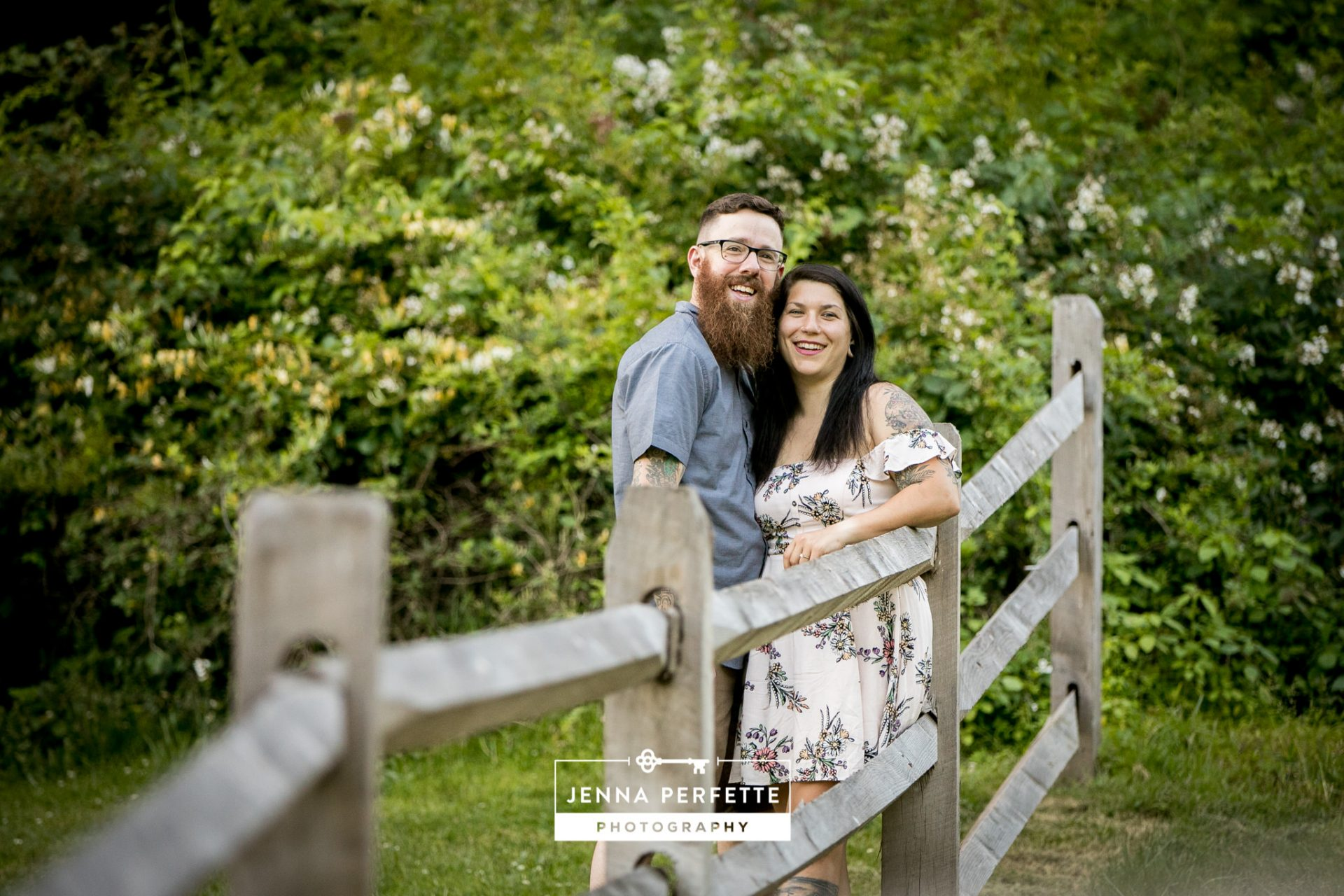 Natirar engagement session