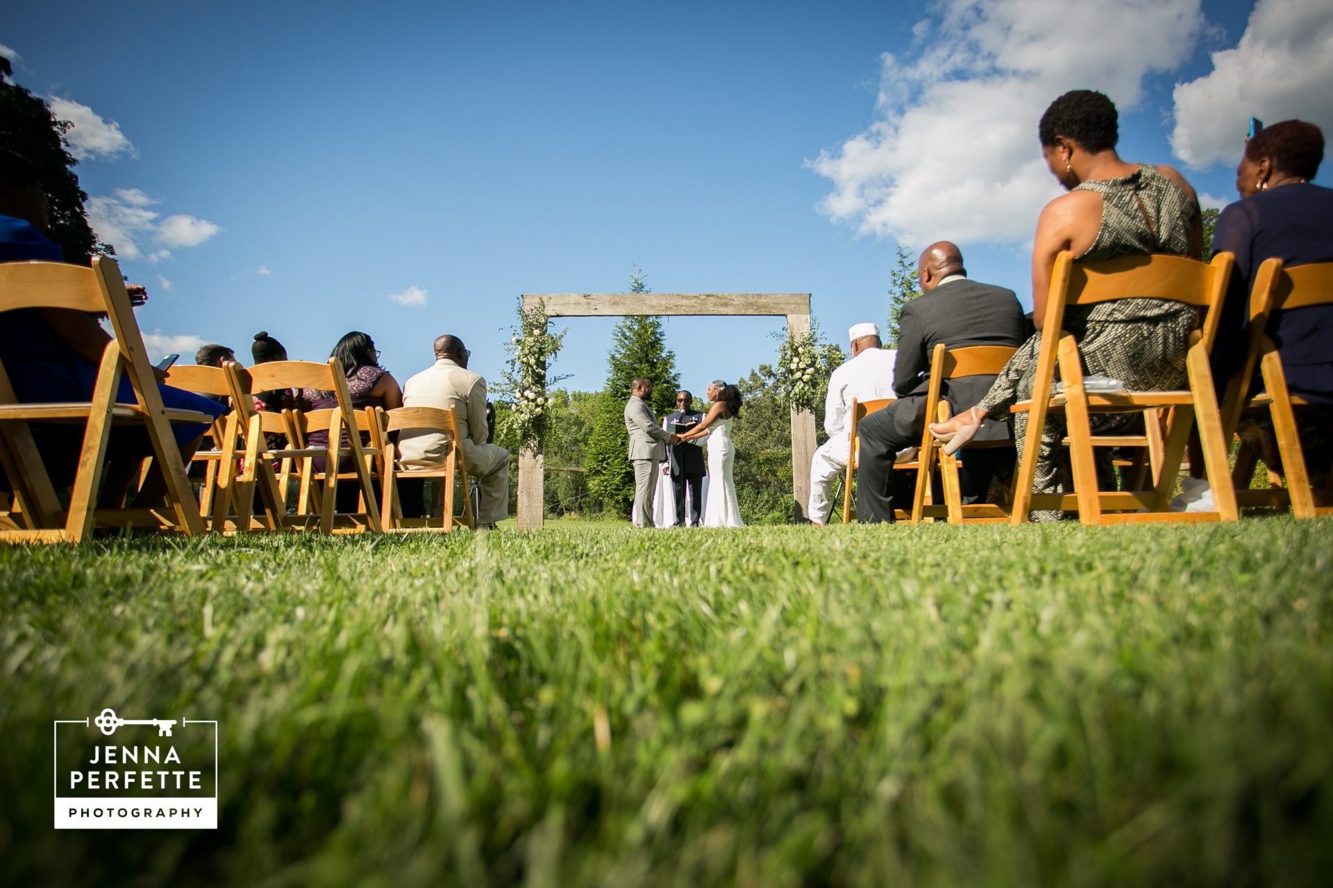 Summer Wedding at Ninety Acres