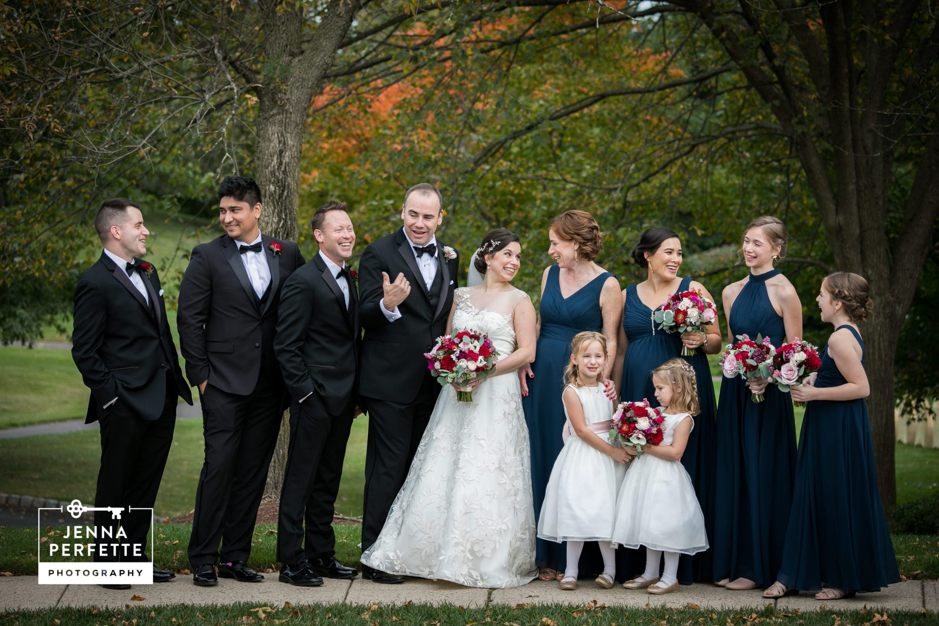 Fall Wedding at Cherry Valley Country Club