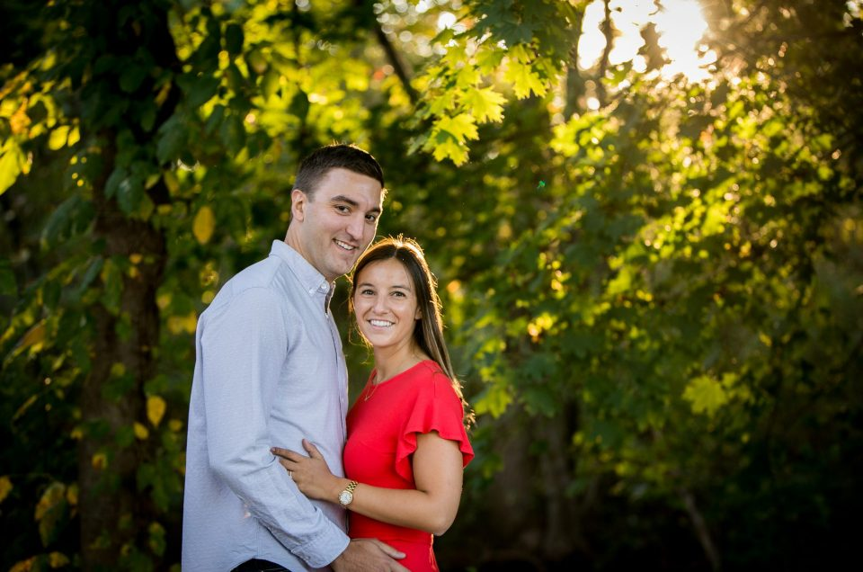 Engagement Session in Lambertville NJ – Taylor & Vince