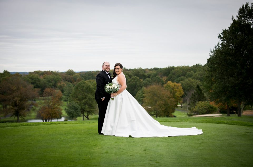 Fall Wedding at Basking Ridge Country Club – Kate & Josh