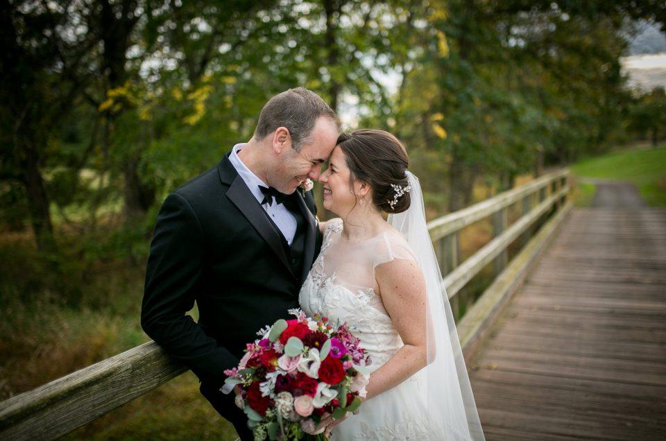 Autumn Wedding at Cherry Valley Country Club – Sara & Tom