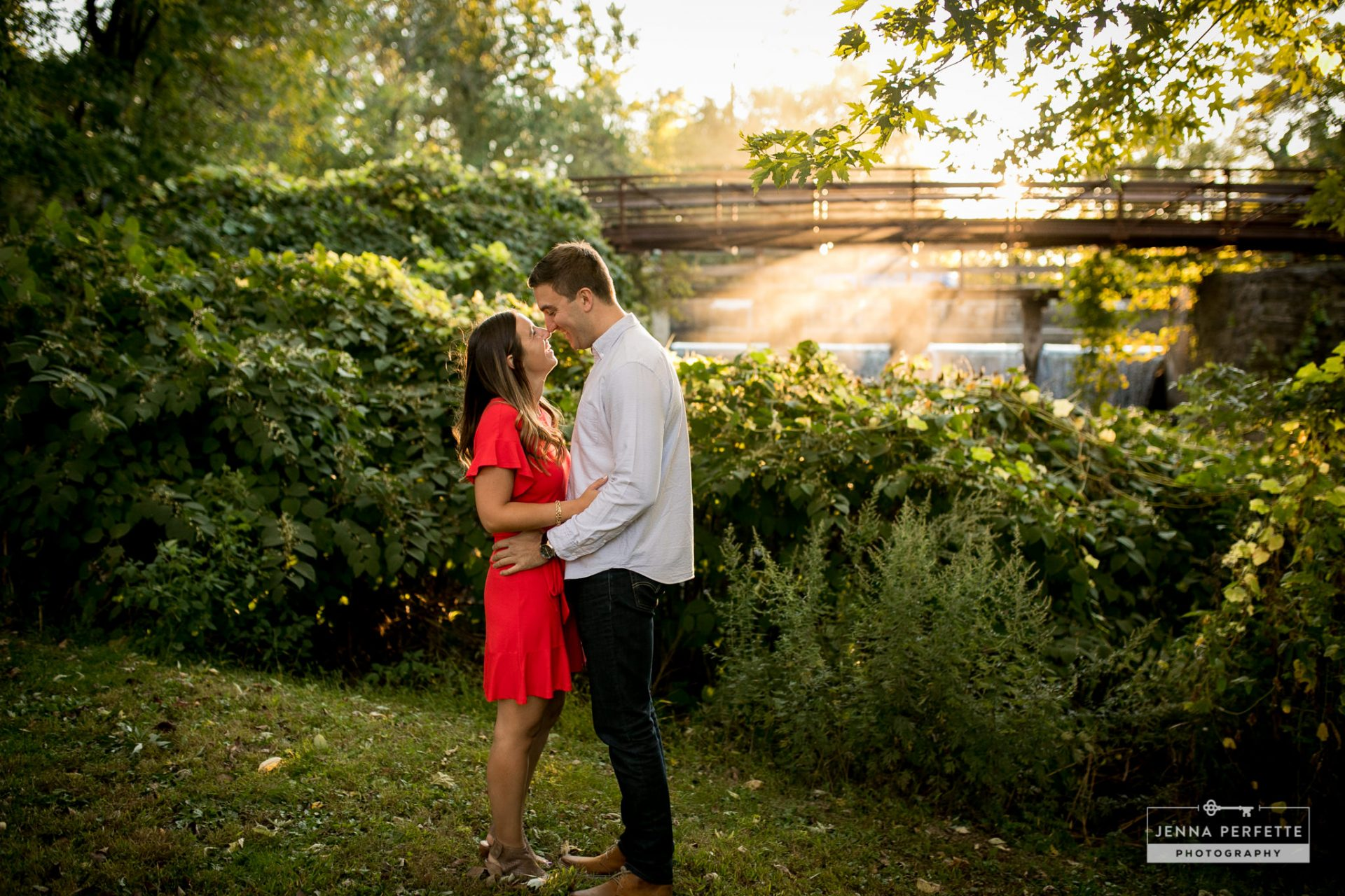 Engagement session in Lambertville NJ