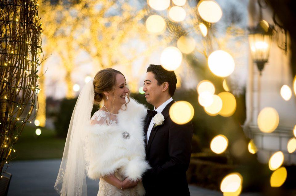 Winter Wonderland Wedding at the Park Château – Amanda & Michael