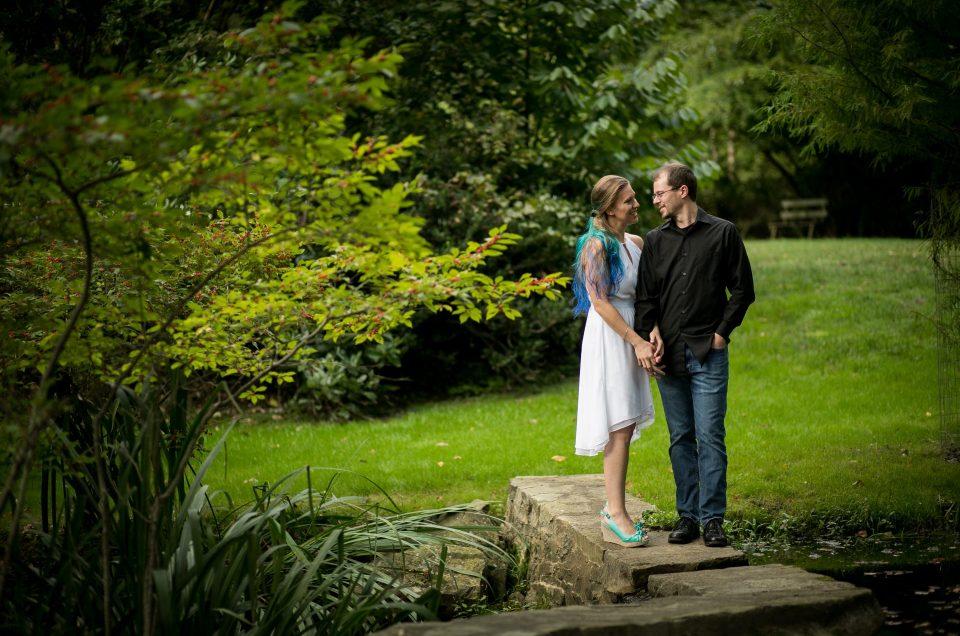 Garden Engagement Session – Lauren & Chris
