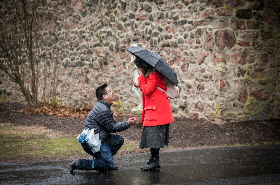 Surprise Proposal in Hillsborough – James & Bining
