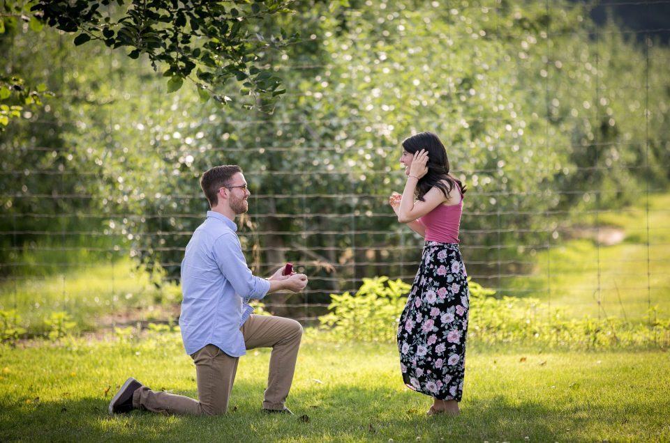 Orchard Proposal – Conor & Stacy