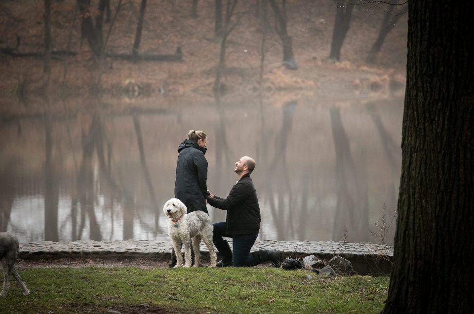 Fall Proposal in the Park – Joe & Chelsea