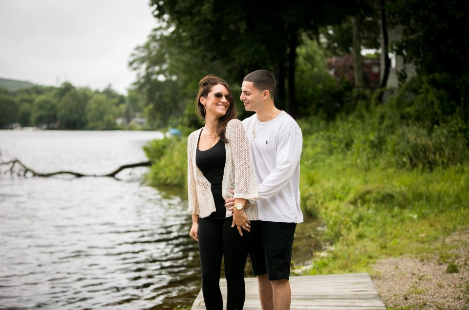 Summer Lakefront Proposal – Andy & Fallon