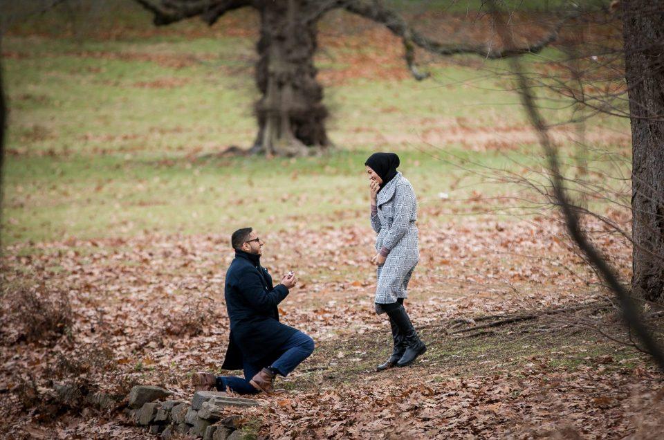A Rutgers Proposal – Bilal & Yasmine