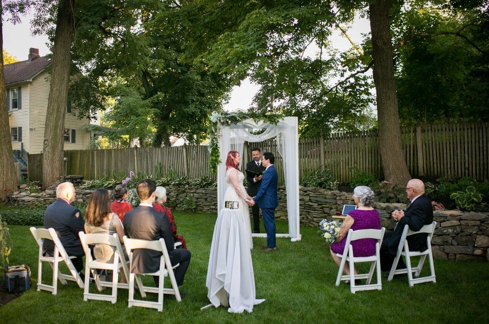 Intimate Backyard Wedding – Susan & Huy