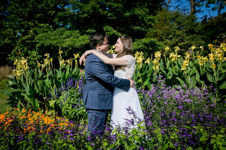 Intimate Wedding at Rutgers Gardens – Shannon & Josh