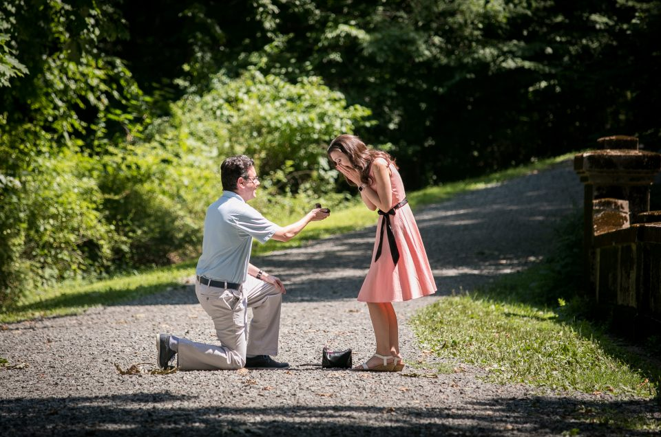 Natirar Park Summer Proposal – Jordan & Kristen