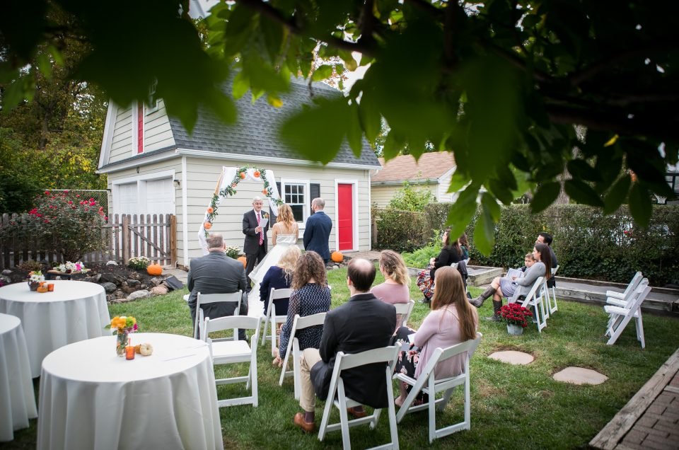 Somerville Backyard Wedding – Bethany & Ken
