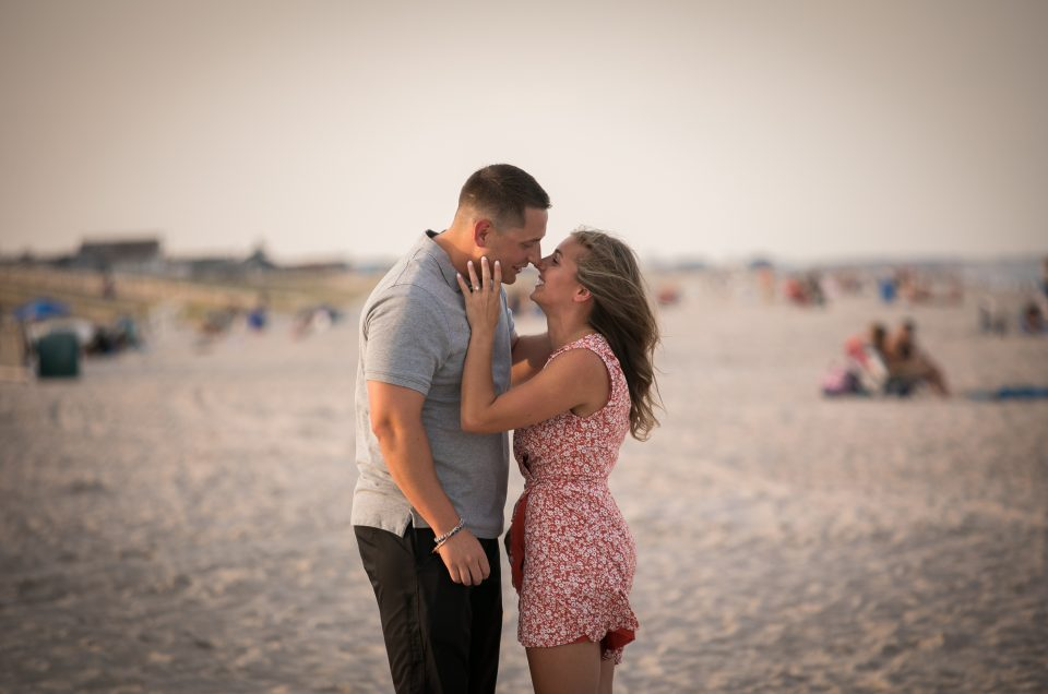 Jersey Shore Beach Proposal – Matt & Ashley
