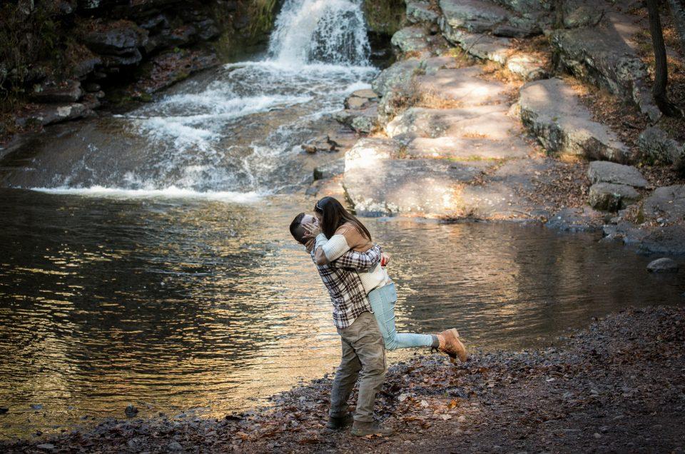 Delaware Water Gap Proposal – Justin & Danielle