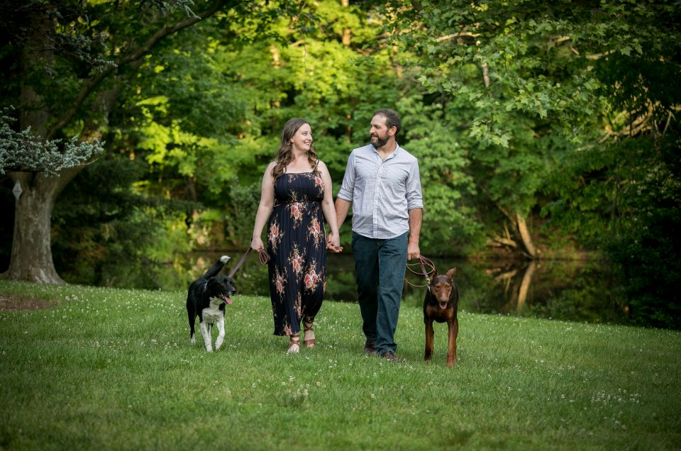 Colonial Park Engagement Session – Alison & Anthony