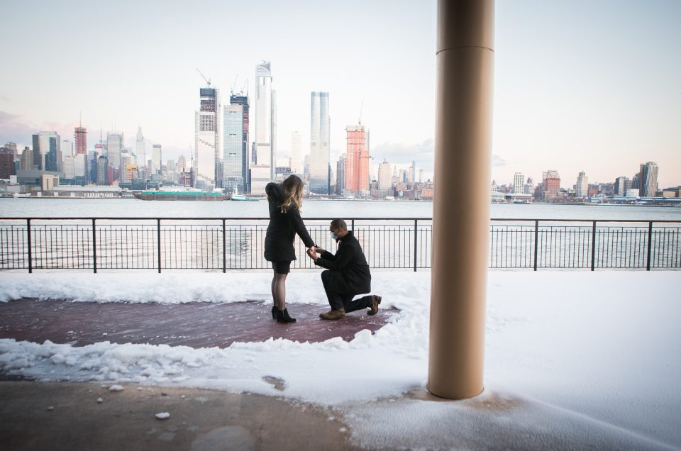 Weehawken Winter Proposal – Edgar & Christine