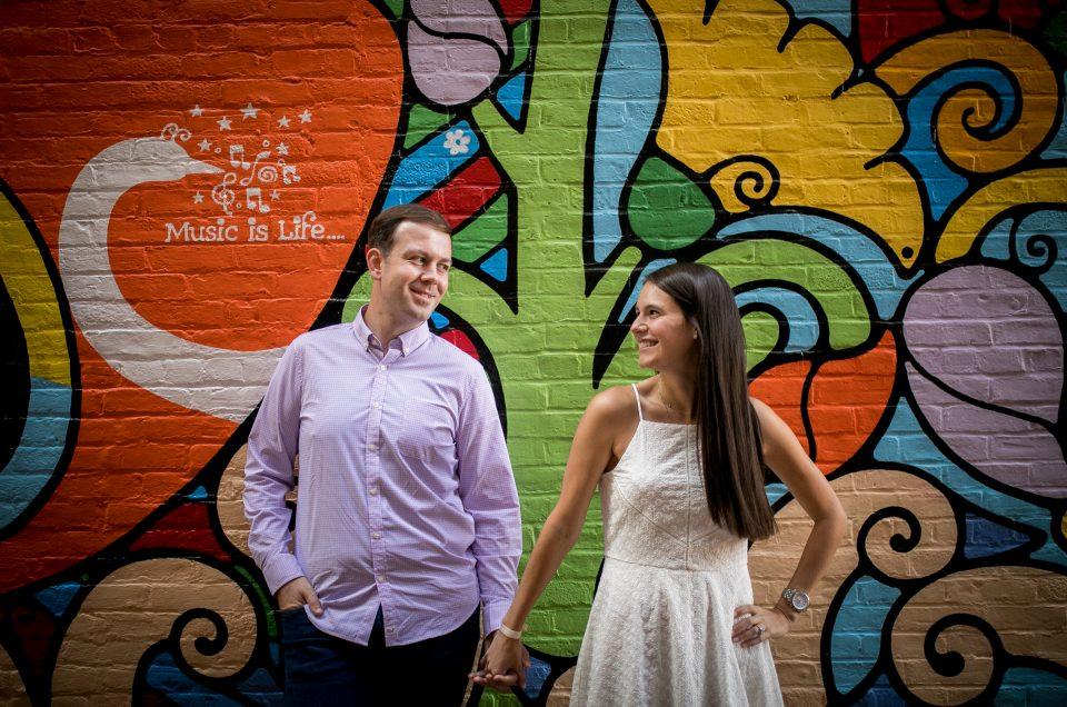 Downtown Montclair Engagement Session – Kerry & JJ