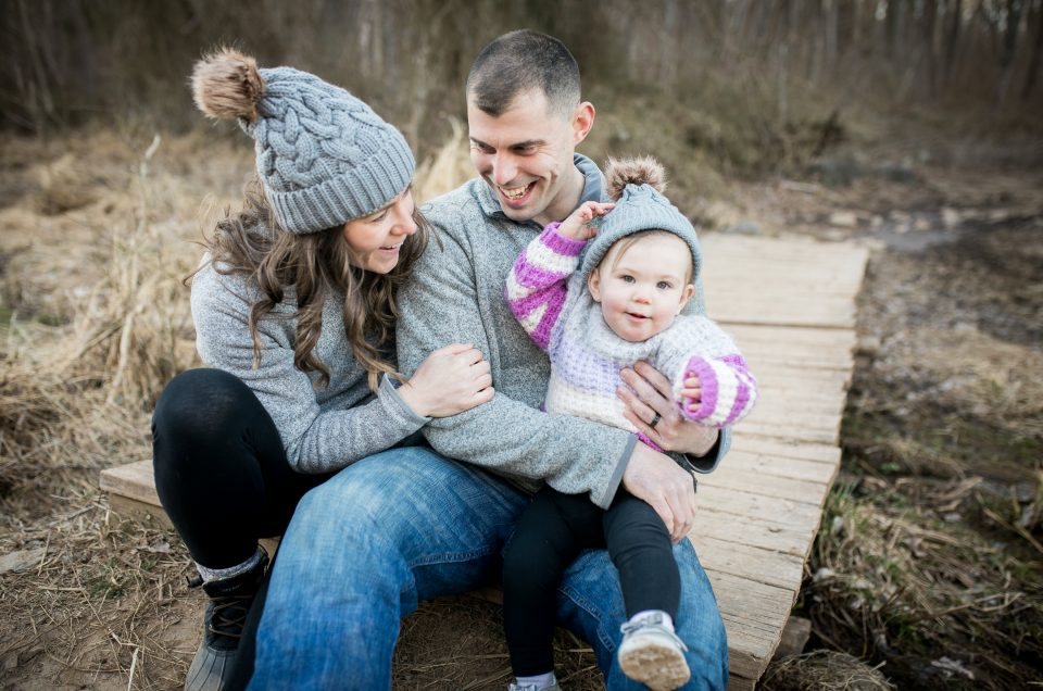 Sourland Mountains Winter Family Session