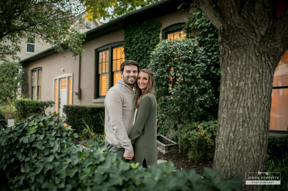 A Fall Princeton Engagement Session – Melissa & Mike