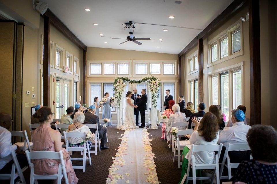 Intimate Wedding at Lambertville Station – Nicole & Adam
