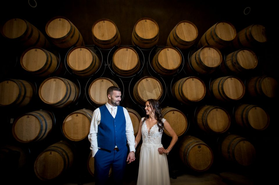 Spring Wedding at Crossing Vineyard – Christine & Collin