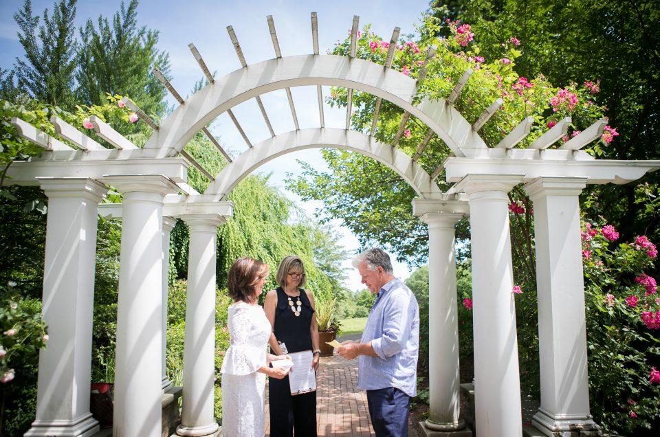 Elopement at Frelinghuysen Arboretum – Rich & Lynn