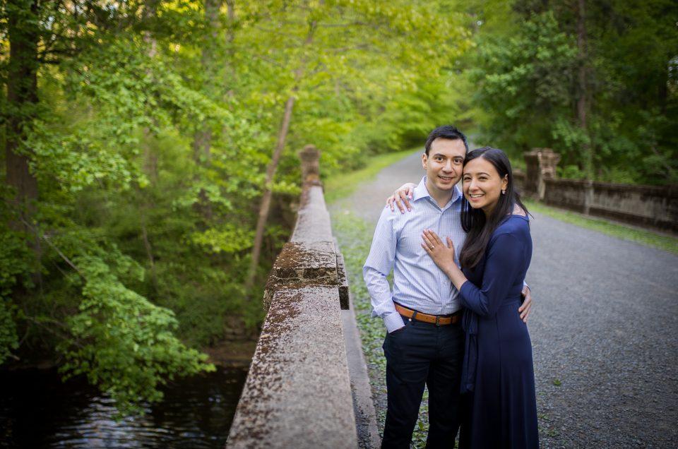 Engagement Session at Natirar Park – Jennie & Michael