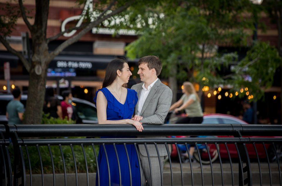 Engagement Session in Hoboken – Erica & David