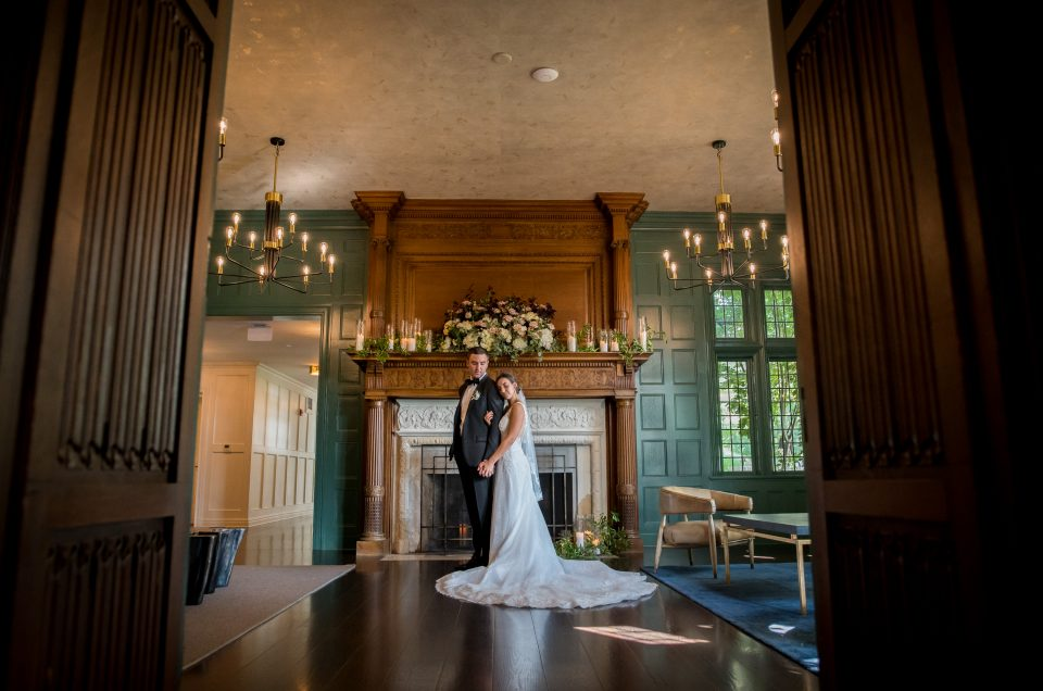Mansion at Natirar Wedding- Taylor & Vince